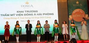 Thẩm mỹ viện Đông Á khai trương chi nhánh Hải Phòng