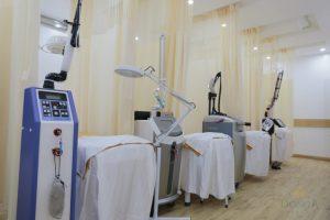 Công nghệ, máy móc điều trị da