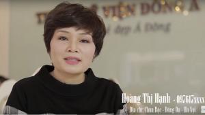 Trị khỏi nám da 21 ngày – Câu chuyện có thật của doanh nhân Hoàng Thị Hạnh